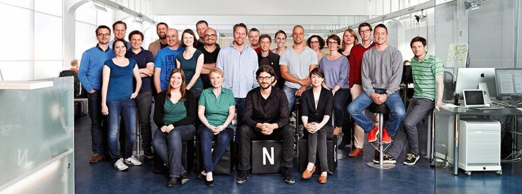 Equipo de GRIN Verlag en la oficina