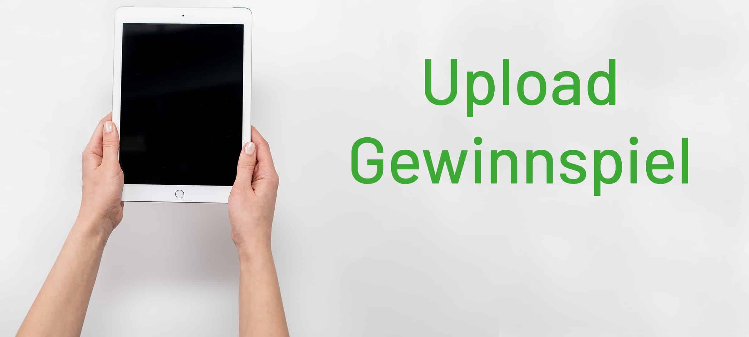 Bild von einem iPad, das es bei GRIN zu gewinnen gibt